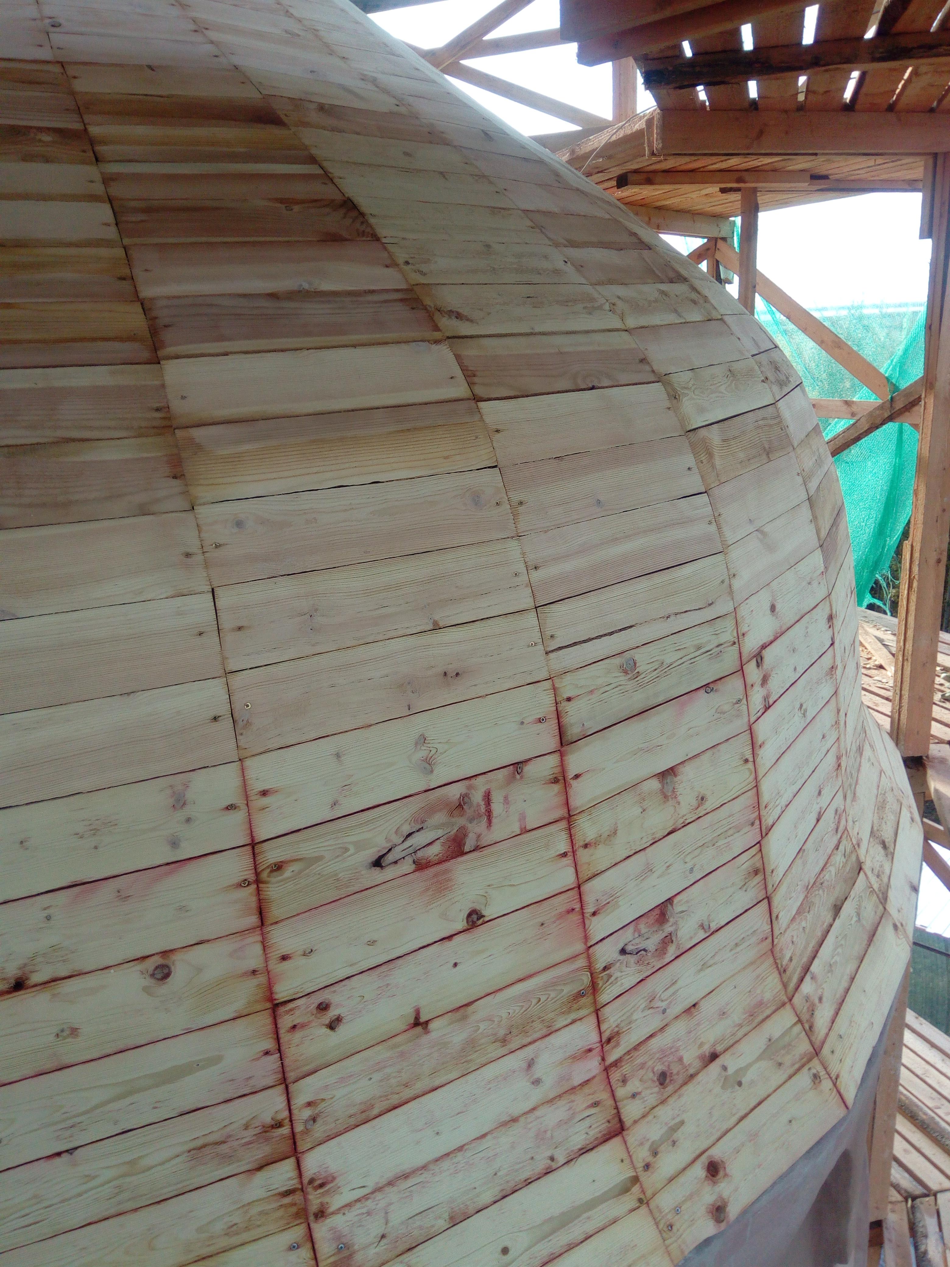 Реставрация купола церкви